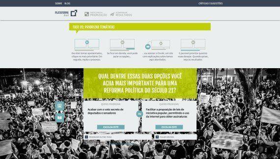 Nova plataforma online quer construir políticas