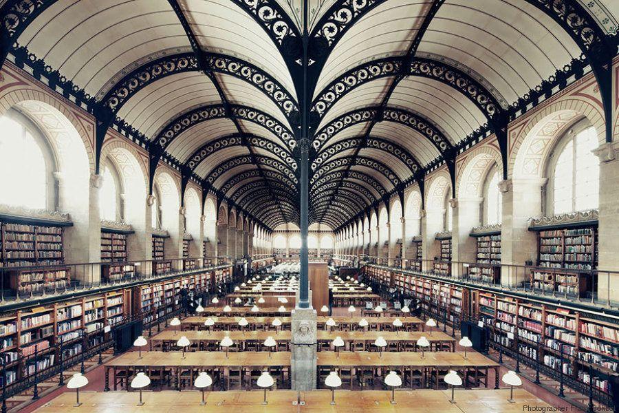12 bibliotecas vazias (e incríveis) pelo