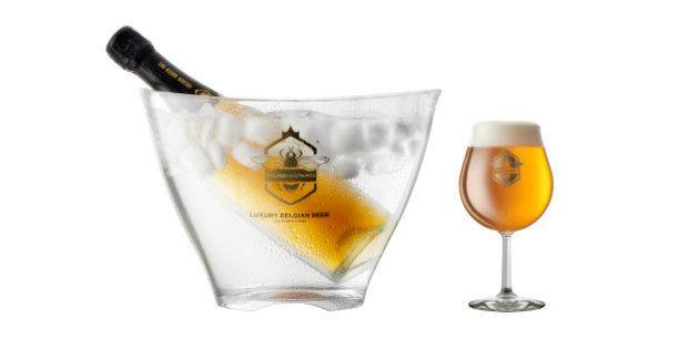 Com ouro de 24K na composição, cerveja belga chega ao Brasil custando R$