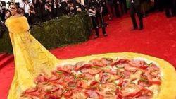 MET 2015: Vestido de Rihanna vira pizza, camisinha e Bob