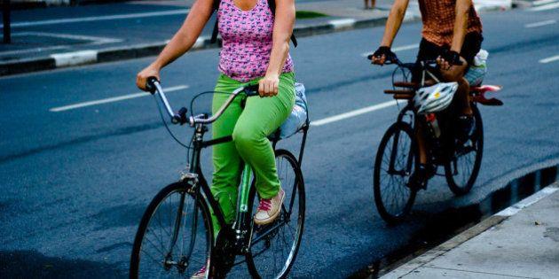 Bicicleta é só uma