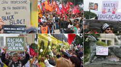 Milhares de professores vão às ruas pedir paz após massacre no