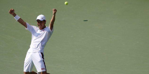 Kei Nishikori vence Djokovic no US Open e é o primeiro asiático a disputar uma final de Grand