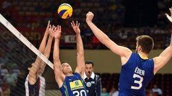 Brasil cede dois sets à Coreia do Sul, mas segue imbatível no