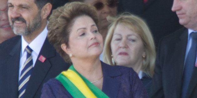 Sete de Setembro: Dilma é recebida com frieza por público em