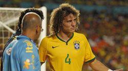 David Luiz não se recupera de lesão e está fora do amistoso contra o
