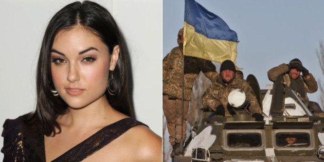 Ex-atriz pornô Sasha Grey acaba no meio da guerra de propaganda entre Rússia e