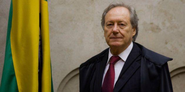 BRASILIA, BRAZIL - FEBRUARY 01: Justice Ricardo Lewandowski during installation the solemn session of...