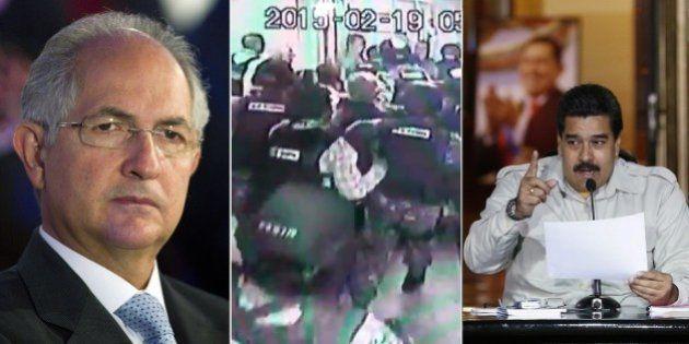 Prefeito de Caracas, Antonio Ledezma, é preso pelo serviço de inteligência venezuelano acusado de tramar...