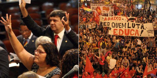 Deputados estaduais do Rio de Janeiro aprovam aumento de 93% para estagiários, que passam a ganhar mais...