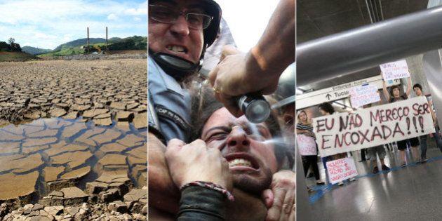 Retrospectiva 2014: Governo tucano ganha mais 4 anos em meio à crise da água e discussão de direitos...