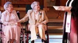 Depois de 72 anos juntas, elas finalmente trocaram