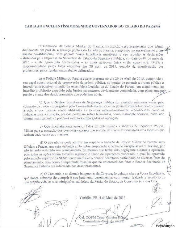 Sem Beto Richa e na presença da 'Bancada da Bala', professores relembram no Senado o massacre sofrido...