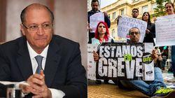 Alckmin quer cortar salário de professores em