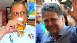 Pezão avança e empata com Garotinho na disputa pelo governo do