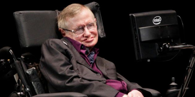Physicist and best-selling author Stephen Hawking appears, Saturday, June 16, 2012, in Seattle. Hawking...