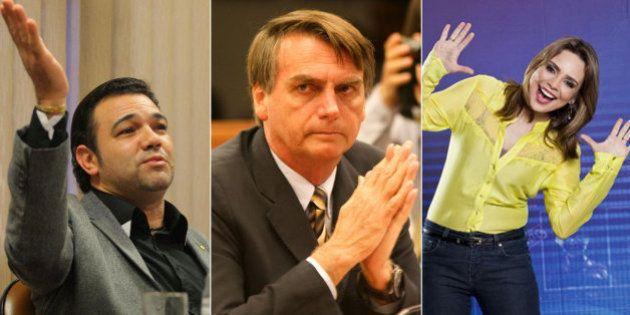 #ForaBolsonaro: Deputado do PP recebe apoio de Marco Feliciano e Rachel Sheherazade contra Maria do Rosário...