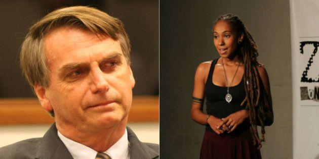 #ForaBolsonaro: Ativista cultural Mel Duarte se inspira em 'discurso vazio' de Jair Bolsonaro para criar...