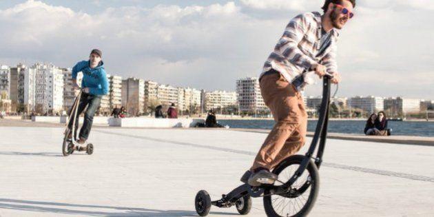 Projeto que mistura bicicleta com triciclo bomba no
