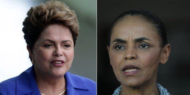 Dilma Rousseff e Marina Silva empatam no 2º turno, diz pesquisa eleitoral do