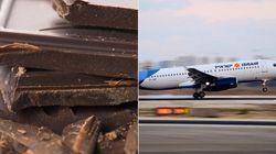 ASSISTA: Chocolate causa briga entre tripulantes e passageiros em
