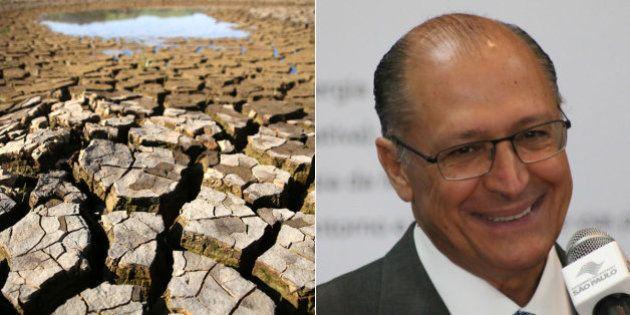 Crise da água em SP: Conta ficará mais cara para quem consumir demais, define Alckmin um dia após ganhar...