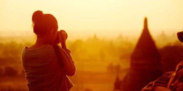 Por que a câmera me tornou uma viajante