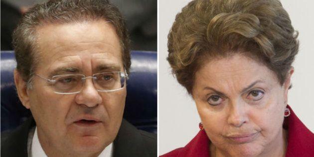Presidente do Senado, Renan Calheiros, diz que coalizão do governo está