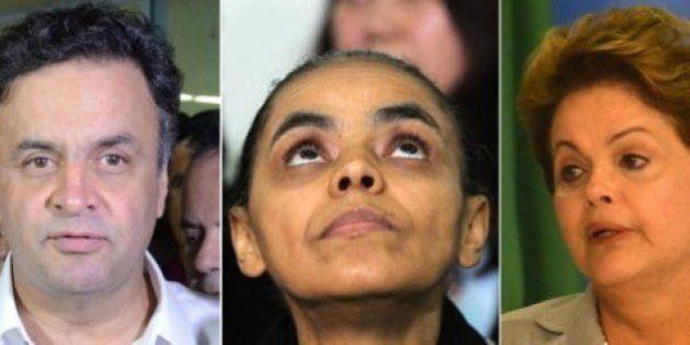 Dilma recupera votos entre os mais ricos, mas Marina e Aécio ainda são os preferidos desses