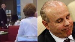 Guido Mantega é xingado enquanto acompanha mulher com câncer em