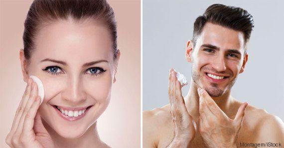Existe diferença entre os cosméticos para homens e para
