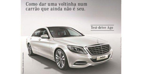 Anúncio da Mercedes-Benz explora 'voltinha' de juiz com carro de Eike