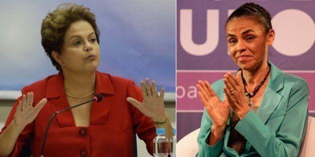 Terceira pesquisa eleitoral aponta disputa bastante apertada entre Dilma Rousseff e Marina Silva no 2º