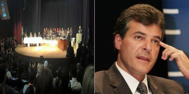Em julgamento simbólico, governador Beto Richa é condenado por massacre de professores do