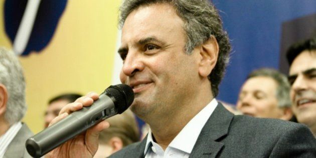 O presidente nacional do PSDB, senador Aécio Neves, participou, hoje (26/08), da posse do ex-ministro...