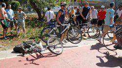 Motorista atropela ciclista em ciclovia de São