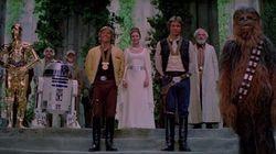 BI-ZAR-RO! Veja como seria o final de Star Wars episódio IV sem trilha
