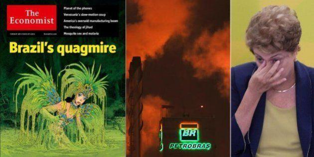 'Brasil no lamaçal': The Economist diz que economia brasileira está 'uma bagunça' e chama Dilma Rousseff...
