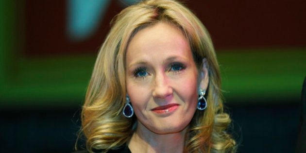 FILE - In this Thursday, Sept. 27, 2012 file photo, British author J.K. Rowling poses for photographers...