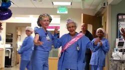 90 aninhos! Enfermeira mais velha dos Estados Unidos ganha
