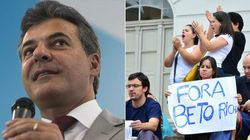 Governador admite erros, mas aponta Dilma como culpada por rombo no