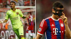 Com gols de Neymar, Barça perde mas deixa Bayern para