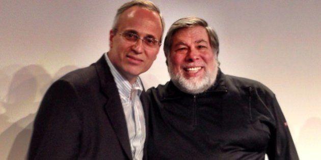 Eu, Steve Wozniak e o meu