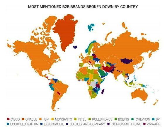 IBM é a marca B2B de maior reconhecimento nas mídias