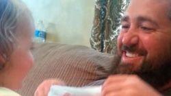 ASSISTA: garotinha não reconhece o pai após ele tirar a barba (de