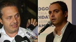 Candidato de Eduardo Campos está na dianteira em