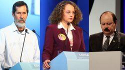 Dilma e Aécio esquentam bate-boca com 'nanicos' no debate da