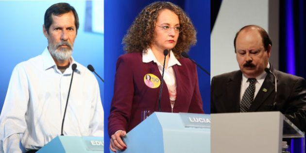 #DebateAparecida: no encontro cristão das interrupções, Dilma e Aécio esquentam o clima e 'apagada' Marina...