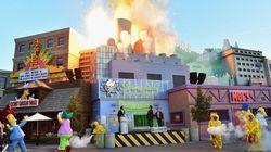 Parque recria 'Springfield', cidade dos Simpsons. E você pode