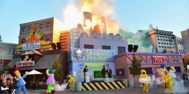 Parque em Orlando (EUA) recria Springfield, cidade icônica do seriado 'Os